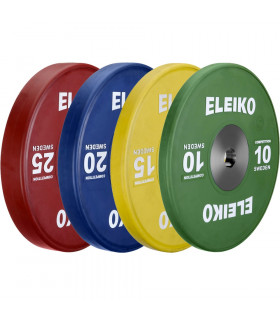 Eleiko Viktskivor IWF Weightlifting Competition Disc