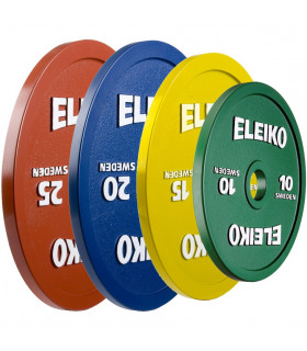 Eleiko Viktskivor IPF Powerlifting Competition Disc