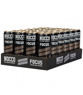 NOCCO FOCUS Cola 330ml 24-pack