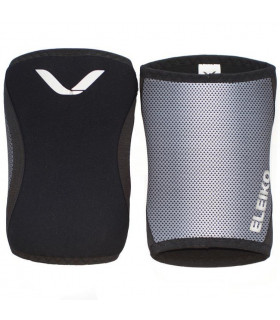 Eleiko Knee Sleeves 7mm Jet Black, par