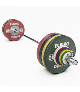 Eleiko Skivstångsset IWF Weightlifting Training Set NxG 190 kg