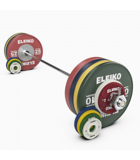 Eleiko Skivstångsset IWF Weightlifting Training Set NxG 185 kg