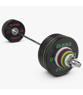 Eleiko Performance Set 190 kg, svart