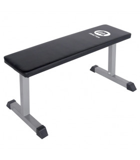 Master Flat Bench Silver