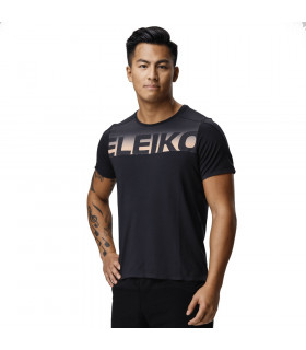 Eleiko Elevate Logo T-shirt Jet Black