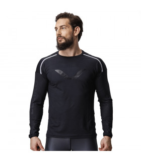 Eleiko Long Sleeve Grip T-shirt Jet Black