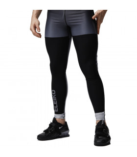 Eleiko Tights Elevate Jet Black, herr