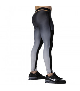 Eleiko Elevate Tights Jet Black, herr