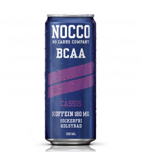 Nocco BCAA Cassis 24x330ml