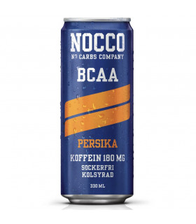 Nocco BCAA Persika 24x330ml