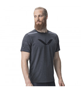 Eleiko T-shirt Grip Jet Black, herr