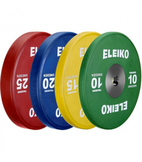 Eleiko Viktpaket IWF Weightlifting Training Disc 165 kg