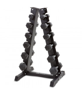 Abilica DumbbellRack Set HEX 2-9 kg