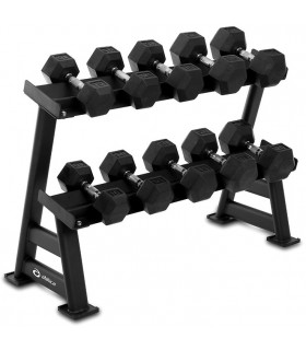 Abilica DumbbellRack Maxi Set HEX 10-20 kg