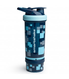 Smartshake Revive Pixel Blue 750ml - FitnessBolaget