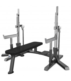 Eleiko IPF Squat Stand/Bench charcoal - FitnessBolaget