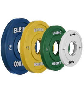 Eleiko IWF Weightlifting Competition Friction Grip Disc