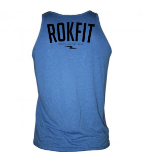 RokFit Clothing Co. Tank, blå