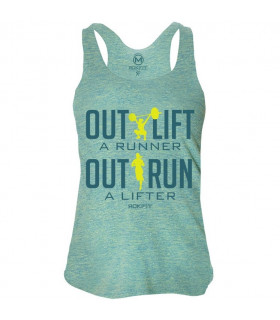 RokFit Tank Outlift a Runner, Outrun a Lifter